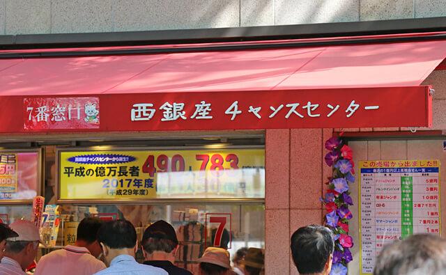 宝くじ西銀座チャンスセンター【公式サイト】 東京西銀座チャンスセンター