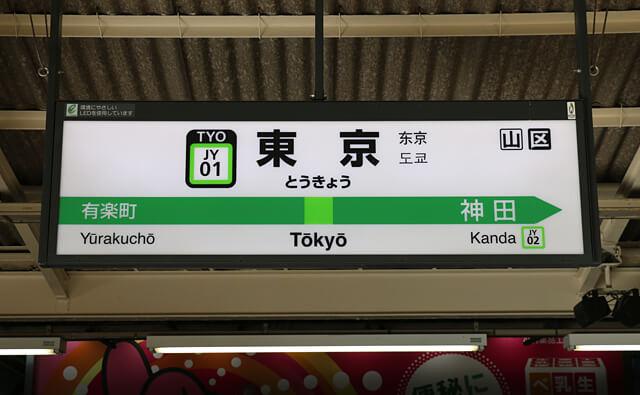 東京 駅 中央 線 から 京葉 線