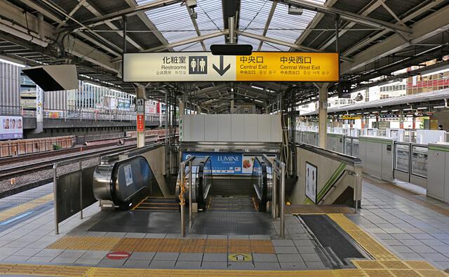 西銀座チャンスセンター行き方